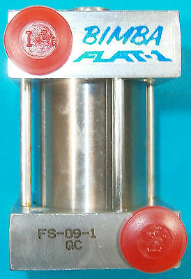 Bimba Square Flat-1 Air Cylinder Fs-09-1 Qc