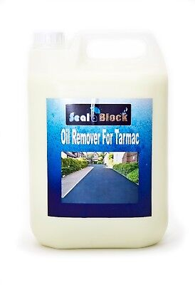 Seal a Block Oil Stain Remover for Tarmac - 5 Litre