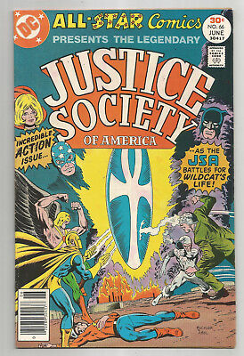 ALL STAR COMICS # 66 * JUSTICE SOCIETY OF AMERICA