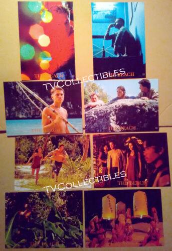 Lobby Card Lot~ THE BEACH ~2000 ~Leonardo DiCaprio ~Virginie Ledoyen~Daniel York