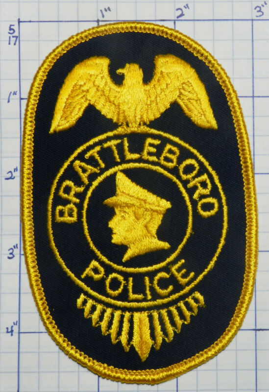 VERMONT, BRATTLEBORO POLICE DEPT PATCH
