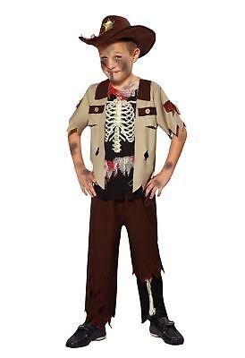 Skelett Sheriff, Klein, Halloween, Jungen (oder Mädchen - Kleiner Junge Skelett Kostüm