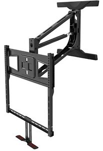 Brand New Above Fireplace Pull-Down Full-Motion TV Wall Mount