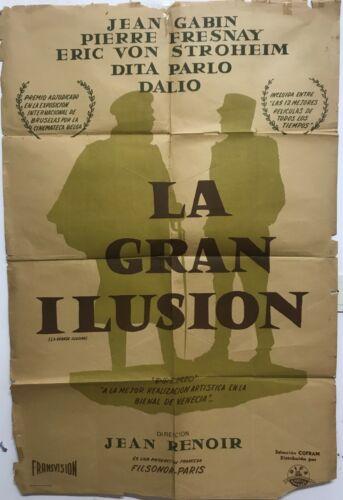 La grande illusion  Jean Gabin, Dita Parlo, Pierre Fresnay  Jean Renoir DEV144