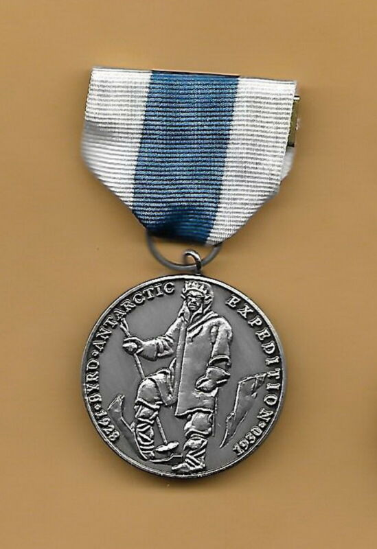 BYRD ANTARCTIC EXPEDITION 1928-1930 - SILVER -  FULL SIZE