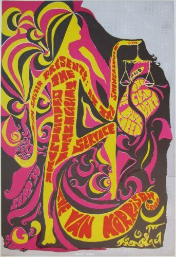 Jim Salzer Presents VAN MORRISON GROUP SB Showgrounds (ORIGINAL PRINTING) POSTER