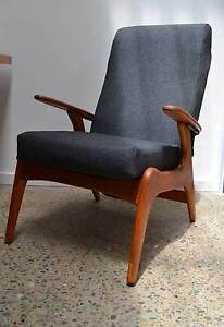 retro, vintage, long FLER SC55 armchair, parker era, midcentury Brookvale Manly Area Preview