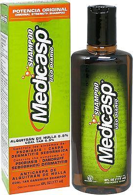 MEDICASP Tar Gel Dandruff Shampoo 6 oz