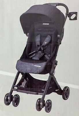 Maxi-Cosi Stroller Lara Lightweight Ultra Shaded and Compact In Nomad Black