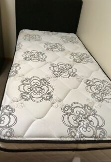 Sealy Pillow Top Single Bed & Headboard