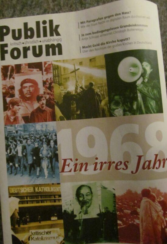 Publik Forum - Nr. 2/2018 1968, Reichtum der Kirchen, Grundeinkommen