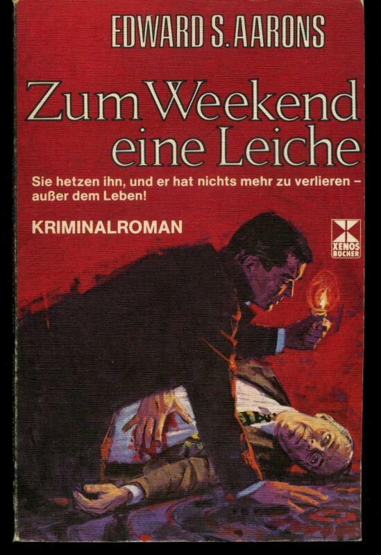 Zum Weekend eine Leiche - Aarons, Edward S., Kriminalromanen, 1976