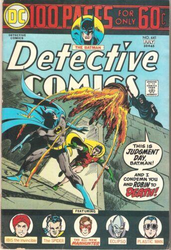 Detective Comics #441 (Jun-Jul 1974, DC)