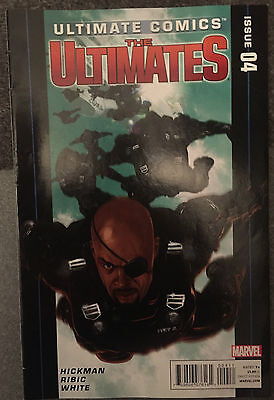 ULTIMATE COMICS THE ULTIMATES ISSUE 4 JANUARY 2012 - AVENGERS - FANTASTIC FOUR