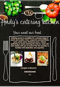 Andy's catering service Blacktown Blacktown Area Preview