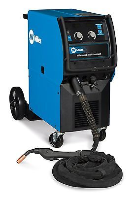 Miller Millermatic 350p Aluminum Mig Welder With 25-ft Xr-aluma-pro Gun 951452