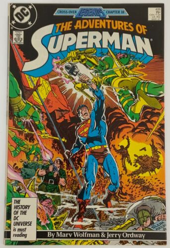 The Adventures of Superman 426 Direct Edition VF Condition