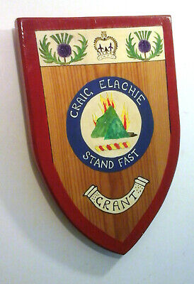 Highland Scottish Clan Grant - Crest Badge - Heraldic Shield - Grant Family