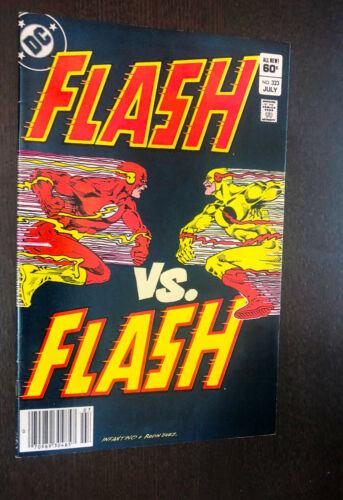 FLASH #323 (DC 1983) -- Newsstand -- Vs Professor Zoom (Reverse) -- VF-