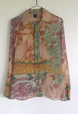 Jean Paul Gaultier Vintage Silk Blouse Size IT 40