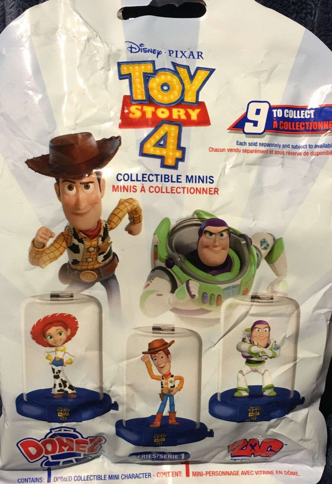 Disney Toy Story 4 Domez Zag Toys Gabby Gabby Rara Colección