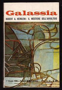 GALASSIA-N-54-ROBERT-A-HEINLEIN-IL-MESTIERE-DELL-039-AVVOLTOIO-LA-TRIBUNA-1965