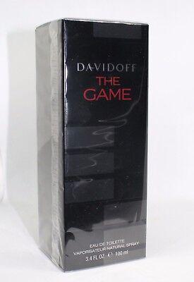Davidoff The Game 100ml Eau de Toilette 100 ml EDT NEU & OVP
