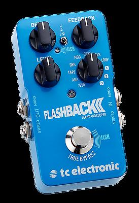 TC Electronic Flashback 2 Delay Guitar Pedal!!