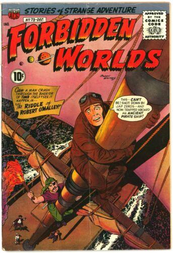 Forbidden Worlds #73 VG 4.0 (ACG, 12/1958) 1st app Herbie; Ogden Whitney Cover