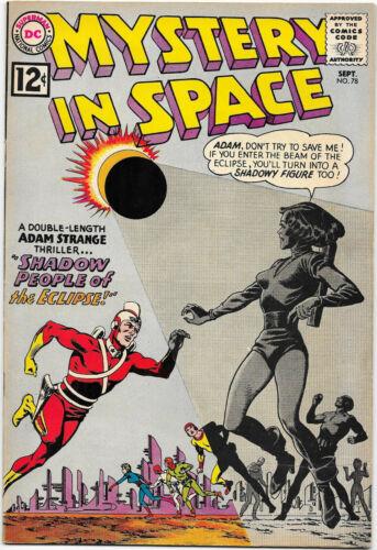 Mystery In Space #78 DC 1962 Adam Strange; Fox / Infantino-Anderson