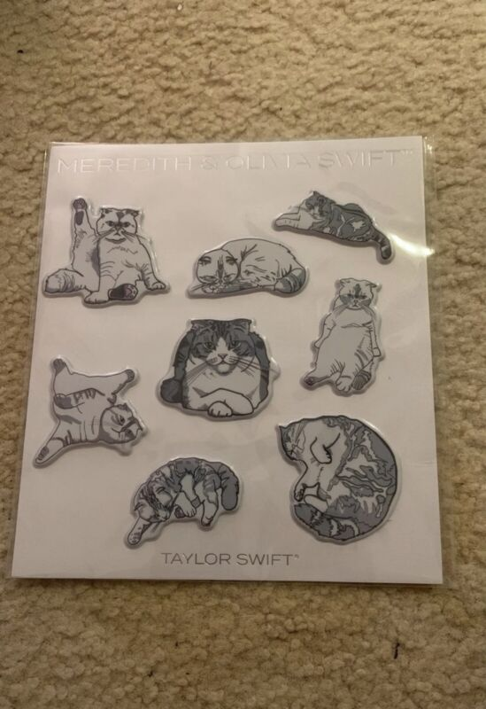 Taylor Swift Meredith & Olivia Realistic Stickers Unopened