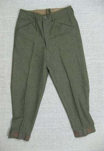SWEDISH ARMY WW2 WOOL TROUSERS M1939 PANTS dated 1941 MINT