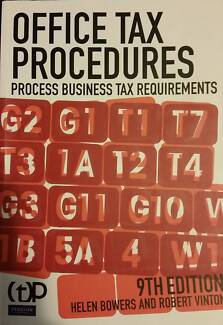 Office Tax Procedures- Process Business Tax Requirements