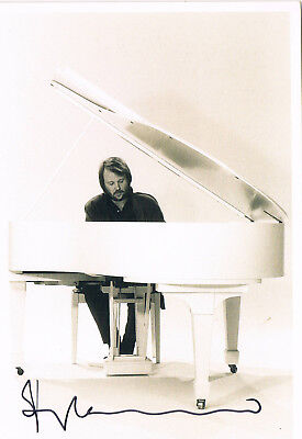 "ABBA Benny Andersson 1946- genuine autograph signed 5""x7"" photo"