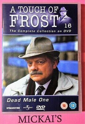 DEAD MALE ONE - A TOUCH OF FROST - NUMBER 16 TOFTCCN16D DVD PAL UK (A Touch Of Frost Dead Male One)
