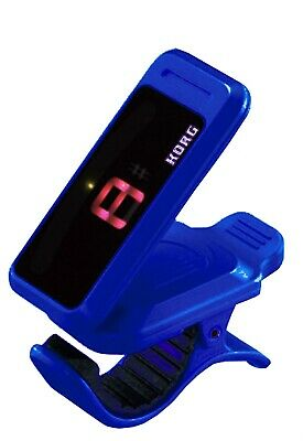 Tuner KORG PC-1 Pitchclip Low-Profile Clip-on Guitar Chromatic Instrument Blue