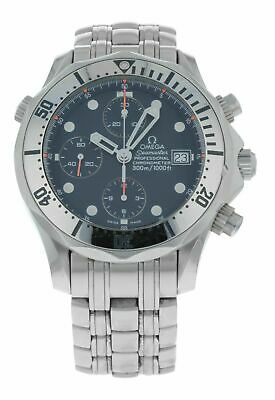 Omega Seamaster Chronograph Blue Dial Automatic 41.5mm Men's  Watch 2598.80.00