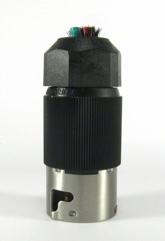 HUBBELL CS-8365L 50 AMP 250 VOLT 3Ø 4 WIRE TWIST LOCK PLUG CS-8365L NEW