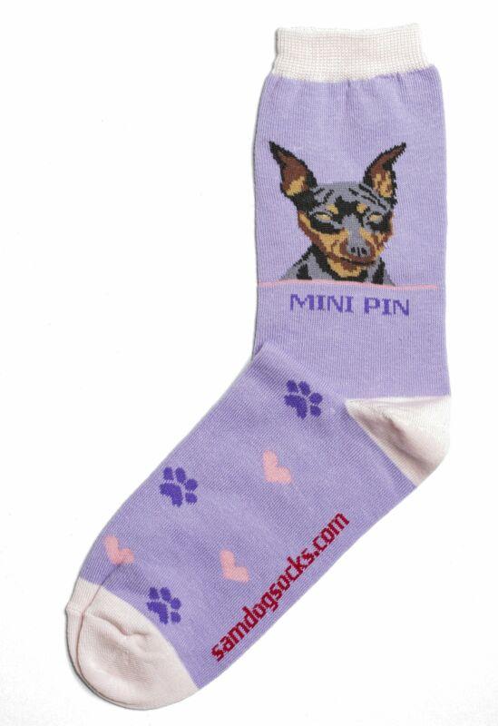 Miniature Pinscher - Minipin - Dog Socks