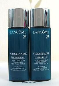 Lancome Visionnaire Face Serum LR2412 4% CX  New X 2
