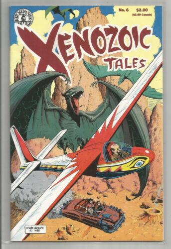 XENOZOIC TALES # 6 * KITCHEN SINK COMIX * 1987