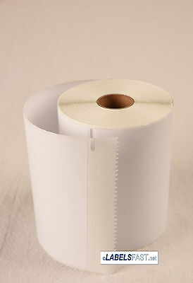 """2 Rolls Thermal Shipping Postage Labels Dymo® 1744907 Compatible 4""""x6"""" for 4XL"""