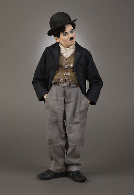 R John Wright - Charlie Chaplin Doll Only - No Dog Scraps