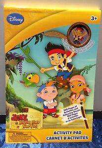 DISNEY JAKE NEVER LAND PIRATES 160 PAGES ACTIVITY PAD