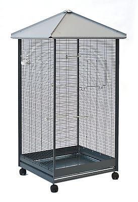 Vogelvoliere, Vogelkäfig für Kanarien, Wellensittich, Exoten, Voliere Käfig XL