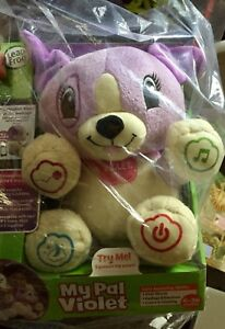 Violet toy can be personalized my Pal leapfrog