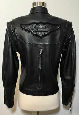 Harley Davidson S Willie G Leather Jacket Convertible Removable Liner 98575-99VW