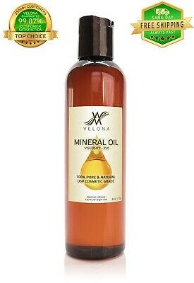 Mineral Oil 350 Viscosity 4 oz NF USP GRADE LUBRICANT PURE&NATURAL VELONA Bath & Body