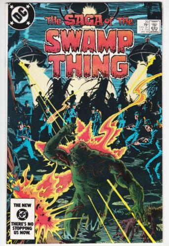Swamp Thing #20 Near Mint Minus 9.2 Dan Day Art First Alan Moore