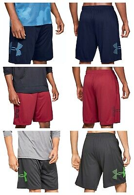 Under Armour Mens UA Tech Graphic Shorts Lightweight Training Sports Gym Shorts